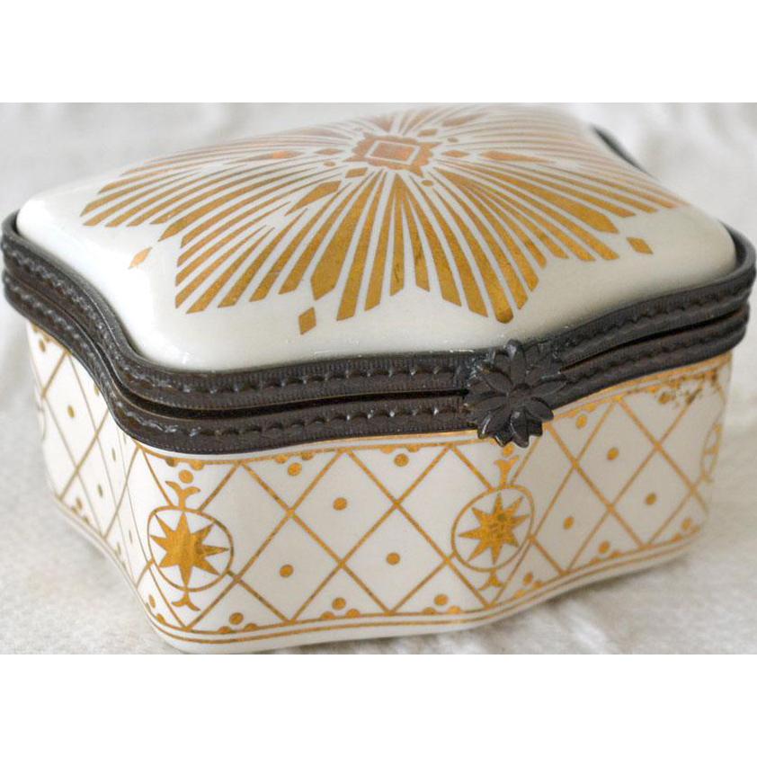 Porcelain Perfume Box Estee Lauder