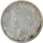 Silver Dollar Peace 1922 S
