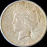 Silver Dollar Peace  1924