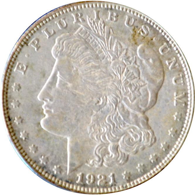 Morgan Silver Dollar 1921D