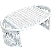 Vintage Wicker Bed Tray