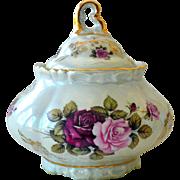 Bavaria HWL Porcelain Covered Bowl Serving Dish