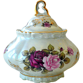 Bavaria HWL Porcelain Covered Bowl Serving Dish