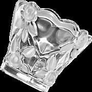 Mikasa Crystal Small Vase or Votive