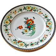 Five Phoenix China Cechoslovakia Salad Plates