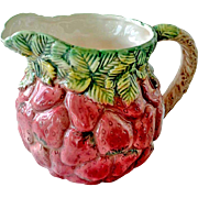 Strawberry Pitcher Hand Painted Takahashi