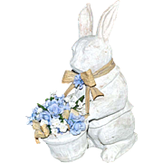 Large Rabbit Papier Mache