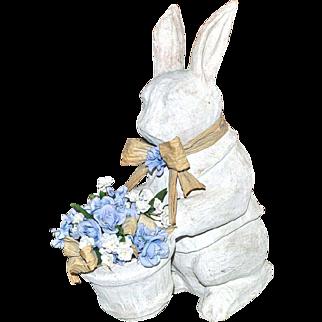Extra Large Papier Mache Rabbit