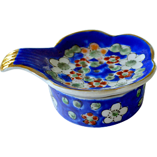 Tea Strainer Porcelain Two Pieces
