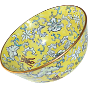 Chinese Japanese Enamel Bowl