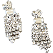 Earrings Rhinestone Drop
