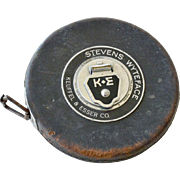 Old Measuring Tape Stevens Wyteface Keuffel & Esser Co.