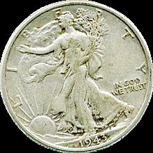 Walking Liberty 1943 Silver Half Dollar