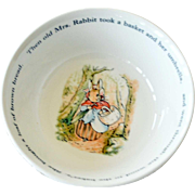 Peter Rabbit Wedgwood Bowl 1993
