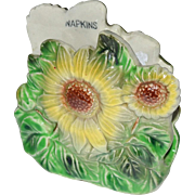 Sunflowers Napkin Holder