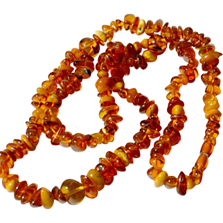 Baltic Amber Necklace Vintage
