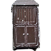 Tootsie Toy Metal Cabinet for Dollhouse
