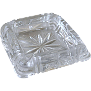Ashtray Deco Style Glass