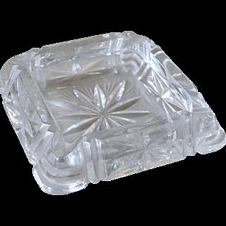 Ashtray Deco Style Glass