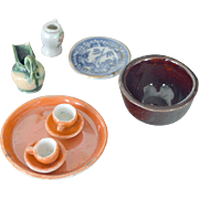 Dollhouse Assorted China Porcelain Miniatures
