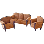 Doll Living Room or Parlor Set Sofa Two Chairs Germany;