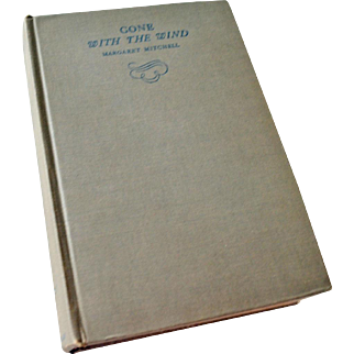 Book Gone with the Wind 1936 Printing