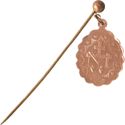 Stick Pin Religious Medal Mary Stickpin