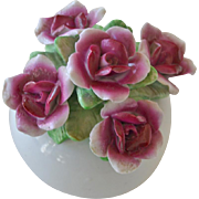 Price Rotating Music Box with Sculpted Flowers
