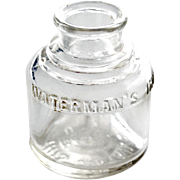 Vintage Watermans Ink Bottle