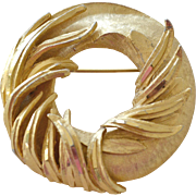 Hefty BSK Pin Brooch Wreath Form