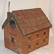 Antique Folk Art Bird House