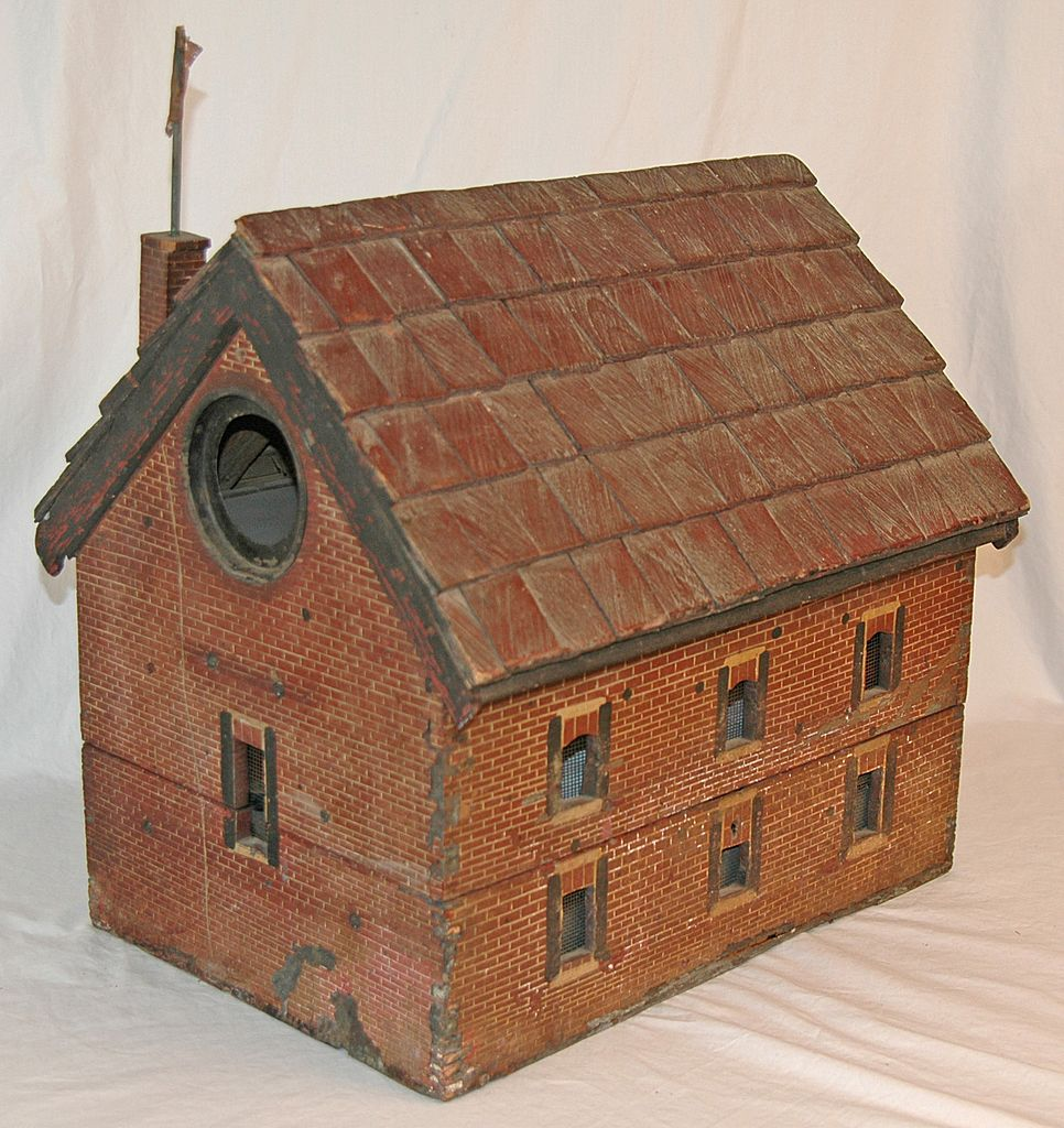 Old Salem Church Bird House - A Replica of the Historic Church near Fredericksburg, VA