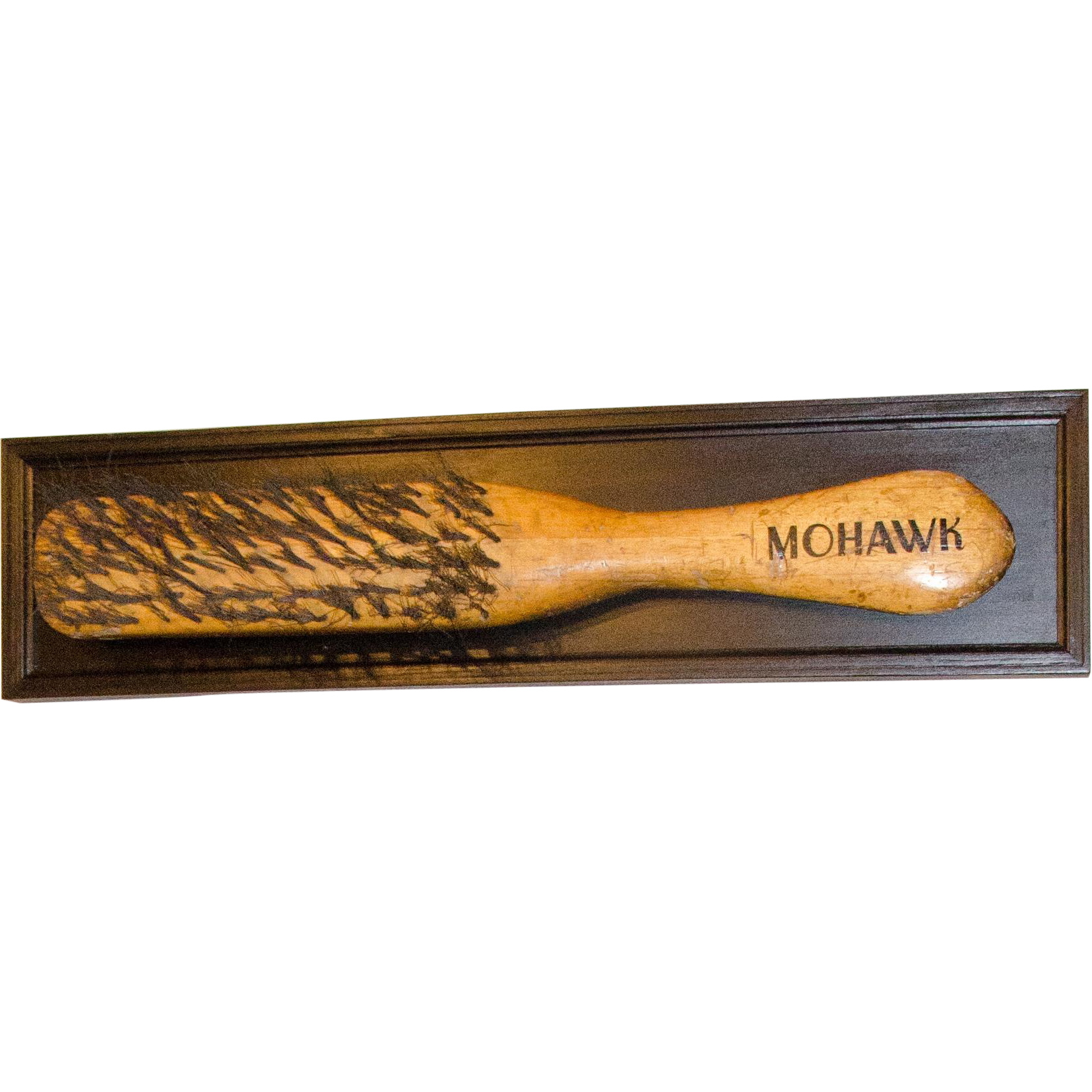 Mohawk Brush Trade Sign