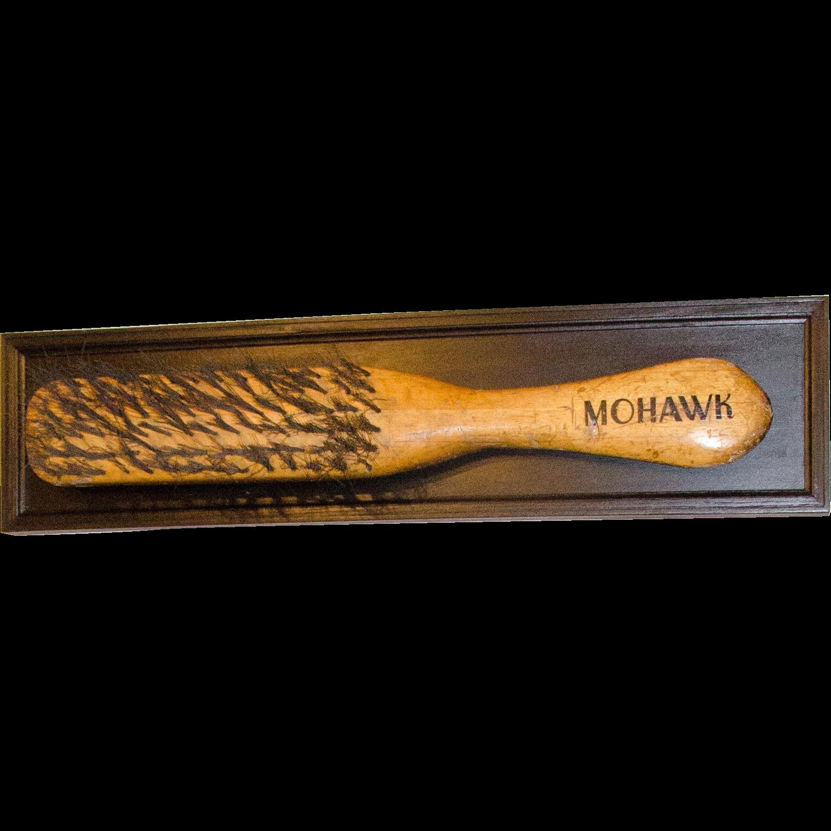 Extremely Large Mohawk Brush Trade Sign