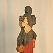 Early Mickey Mouse Lawn Ornament