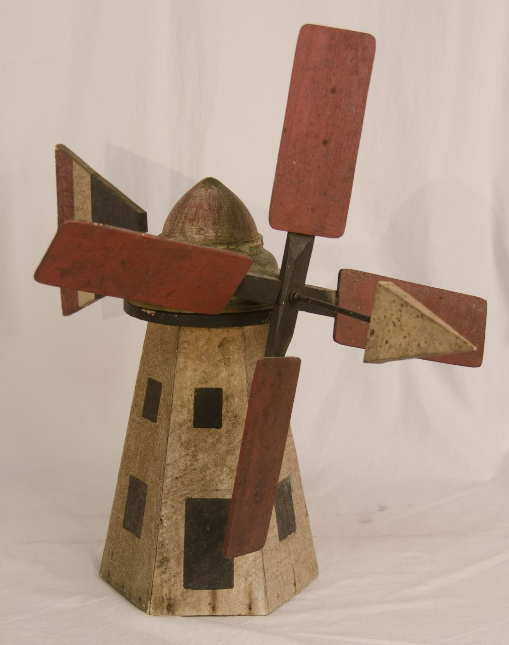 Paint Decorated Windmill Whirligig From Asgoodasold On