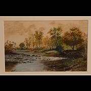 Scenic Victorian Watercolor