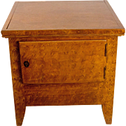 Early Vinegar Painted Pine Commode