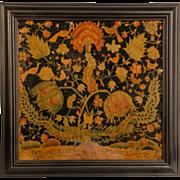 18th Century Long-Stitch Crewel Work