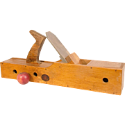 Folk Art Birdhouse in the form of a Wooden Smoothing Plane