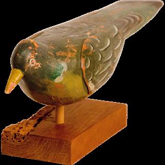Painted Wood Pigeon Decoy