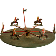 Indians on Horseback Table Top Game Wheel