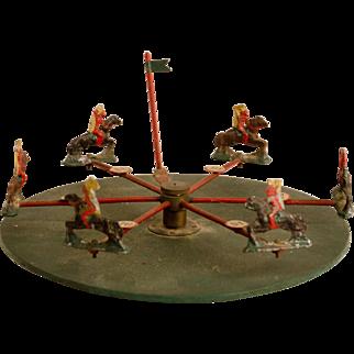 Indians on Horseback Table Top Game Wheel