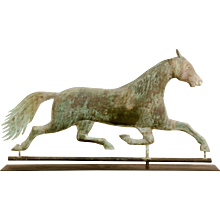 A.L.Jewell Running Horse Weathervane
