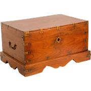 English Campaign Style Tea Chest