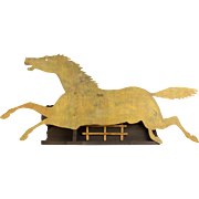 Running Horse Silhouette Weathervane