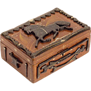 Farrier Decorated Trinket Box