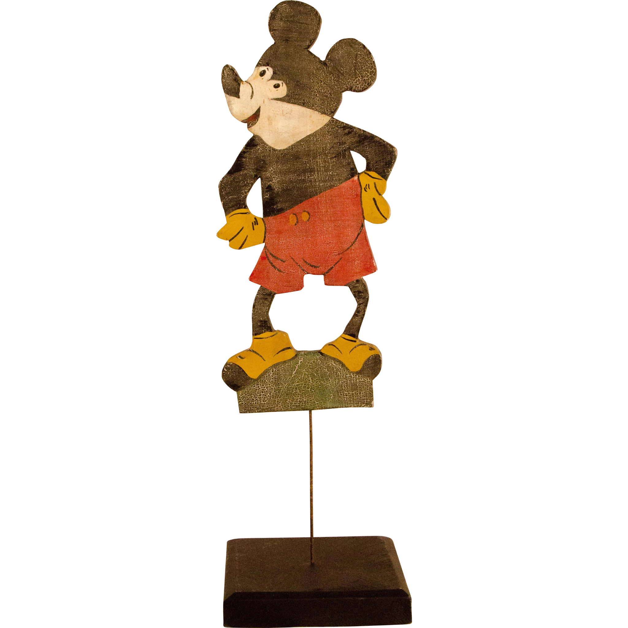 Vintage Mickey Mouse Lawn Ornament