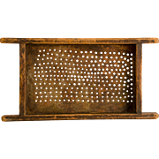 Early Wood and Tin Sifter