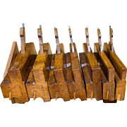 Matched Set of W. Greenslade Side Bead Molding Planes